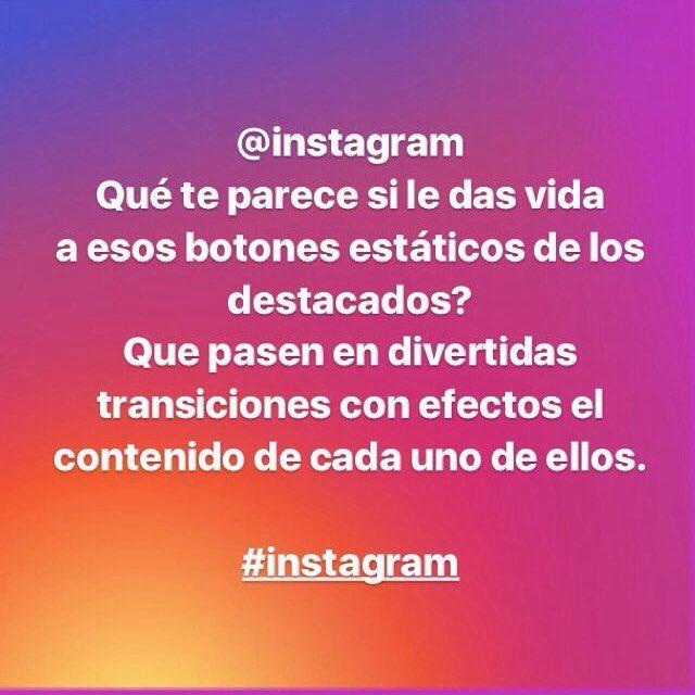 A Ver Que Sucede Como Quien Pide Un Deseo Que Les Parece Esta Idea Instagram Que Te Parece Si Le Das Vida A Esos Estaticos Botones Instagram Vida