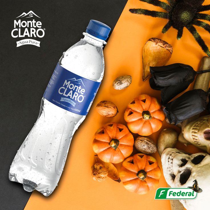 ¡Frescura Aterradora! ¡Tal parece que ni la frescura de Monteclaro se pudo escapar a esta terrorífica fecha!  #AguadeVida #halloween