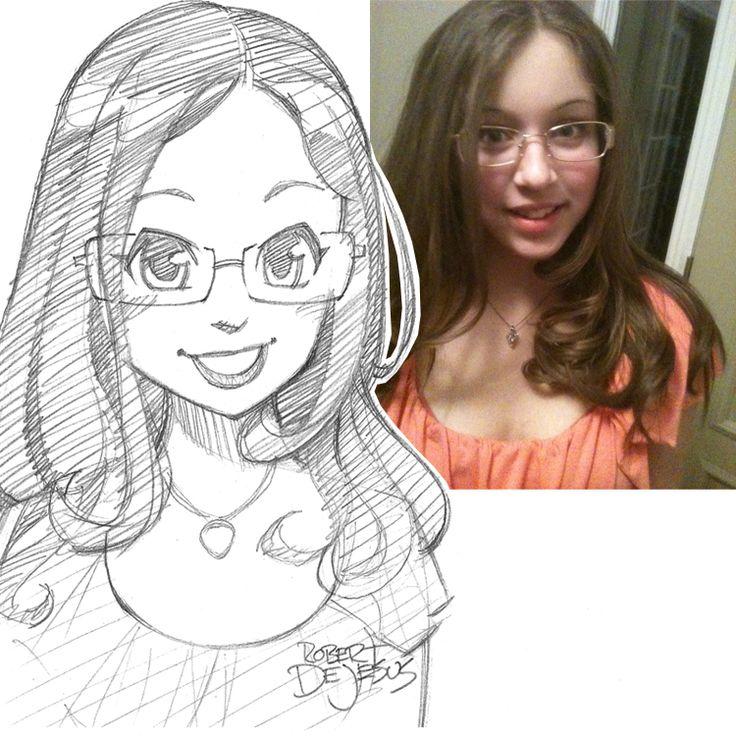 MeG_16 Sketch by Banzchan.deviantart.com on @deviantART