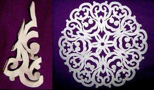 Снежинки из бумаги: схемы для вырезания