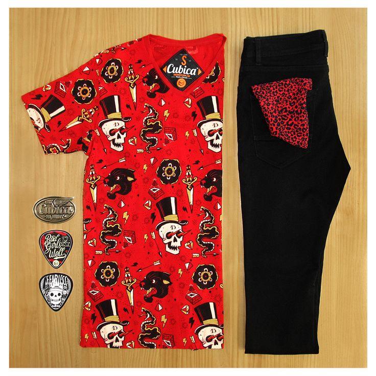 Cubica te trae un buen Outfit para todos tus parches con los parceros, IT´S TIME TO ROCK!!! #Mundo #Cubica