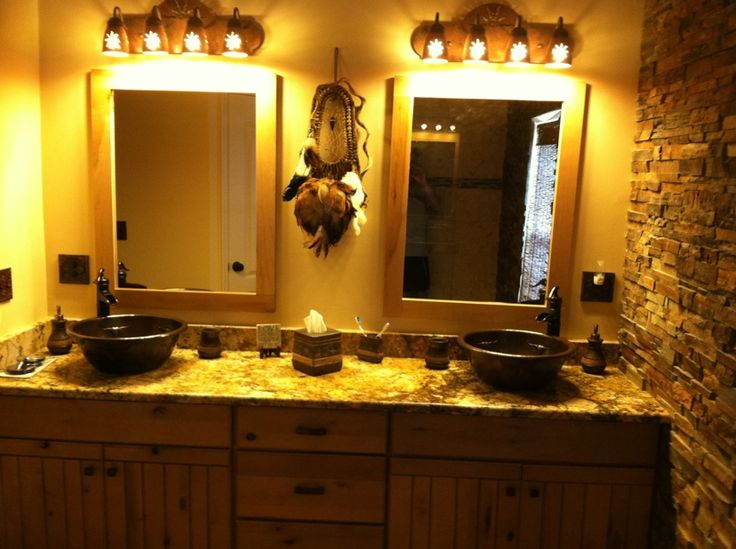 17 best images about bathroom ideas on pinterest western for Southwest bathroom designs