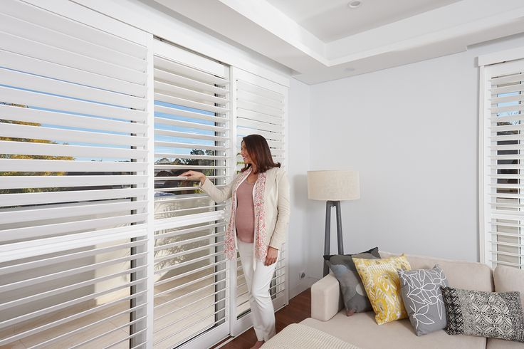Keep things simple and natural by choosing the Luxaflex Polyresin Shutters to spruce up the atmosphere of a room. #luxaflex #polyresinshutters #shutters #blinds #homedecor #windowfashions #windows #home #style