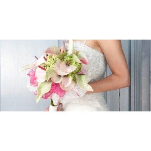 Bruidsboeket Anthurium