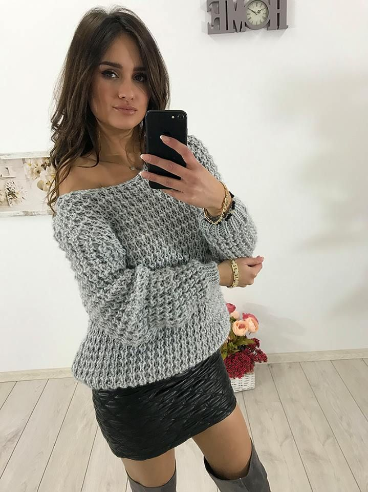 Ażurowy sweter już dostępny w sprzedaży online 👍👍👍 Dostępne 3 KOLORY: szary, morelowy, beżowy, ecru Link do produktu: http://bit.ly/2ww8d4b Stylistka Sara <3