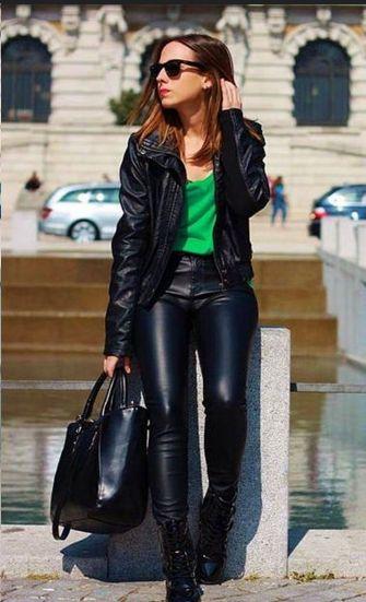 8640 besten leather fashion bilder auf pinterest. Black Bedroom Furniture Sets. Home Design Ideas