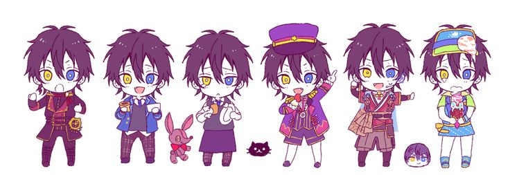 Ensembles stars Mika all outfit