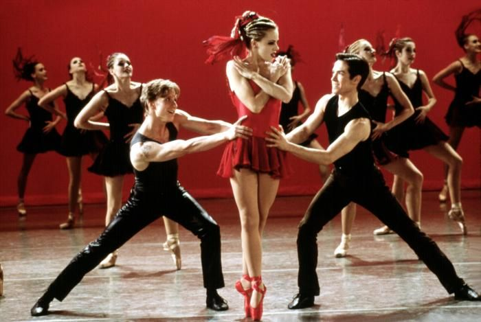 Ethan Stiefel, Amanda Schull and Sascha Radetsky ds center stage (danse ta vie)