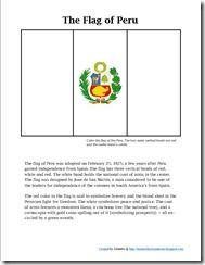 Peru unit study to follow Paddington book
