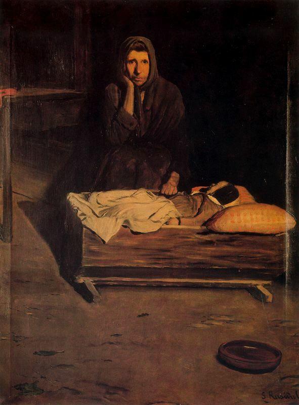Santiago Rusiñol Prats). España. (1861-1931