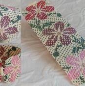 Hawaiian Print Colors Cuff Loom Bead - via @Craftsy