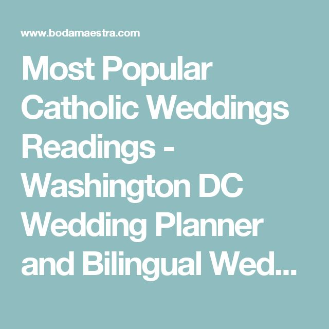 Catholic Wedding Readings: 1000+ Ideas About Catholic Wedding Readings On Pinterest