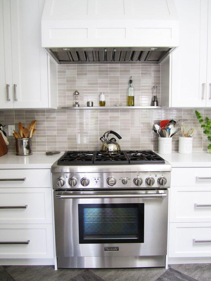 Shelf above stove