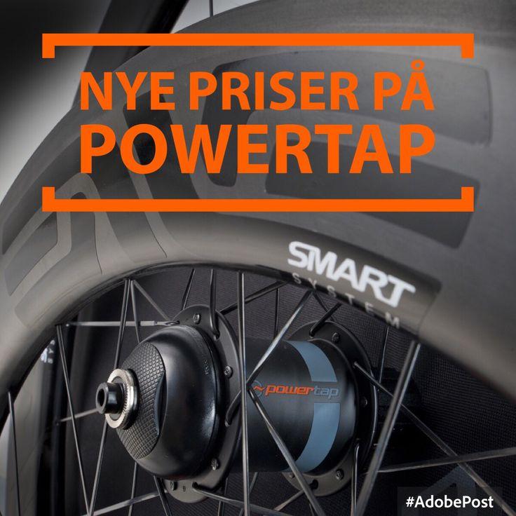 Der er kommet nye priser på PowerTap Nav og Hjulsæt se mere på Gear4Bikesshop.dk
