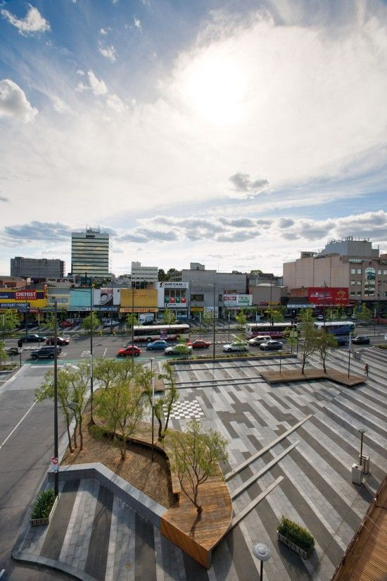 Central Dandenong Lonsdale Street Redesign and Upgrade by BKK Architects