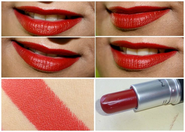 MAC Matte Lipstick RUSSIAN RED