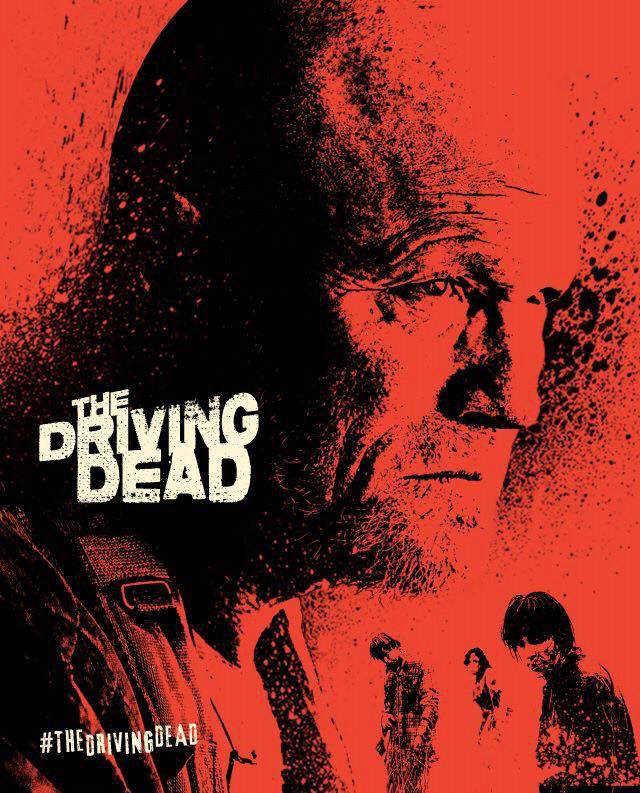 The Driving Dead Web Series poster with Michael Rooker