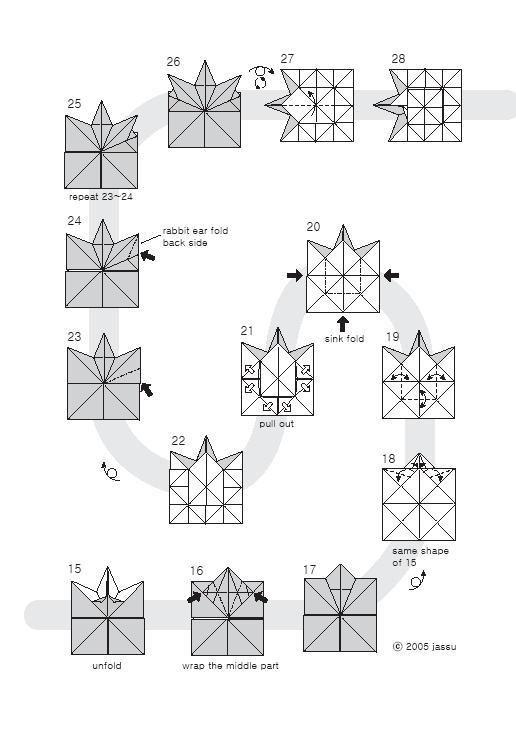 origami leaf 2