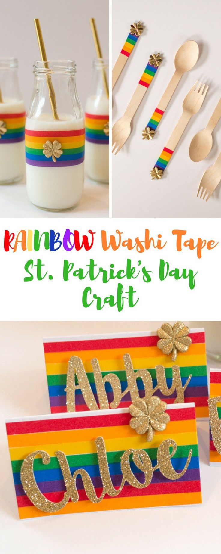 St. Patrick's Day Craft on Love The Day
