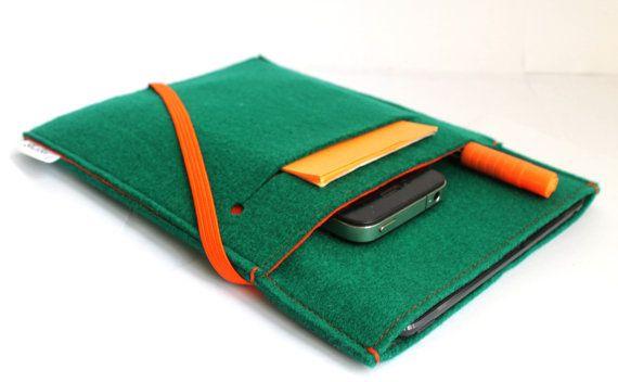 iPad Mini Sleeve/ Mini iPad/ iPad Case Cover Organizer LIMITED EDITION only 2 available via Etsy