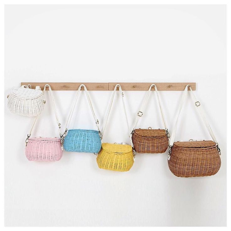 New to the Olli Ella range is the Minichari and Mamachari baskets. Attach to your scooter or bike or carry around with the attached strap - available in the 5 gorgeous Olli Ella shades. This is a preorder item for the first run (stock is super limited) Afterpay and ZipPay available Shop Now: www.minimacko.com.au