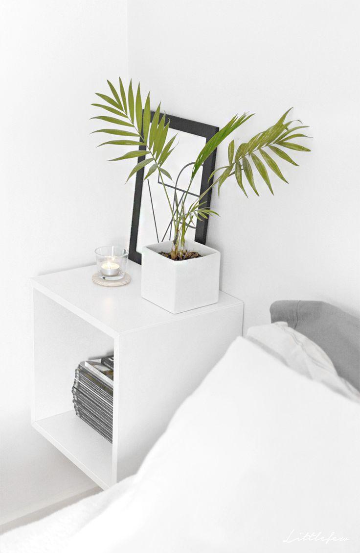 Littlefew Blog // Sådan får du en perfekt og minimalistisk garderobe! Flere billeder og detaljer i linket! :) Soveværelse, opbevaring, sort / hvid, detaljer i hjemmet, ...