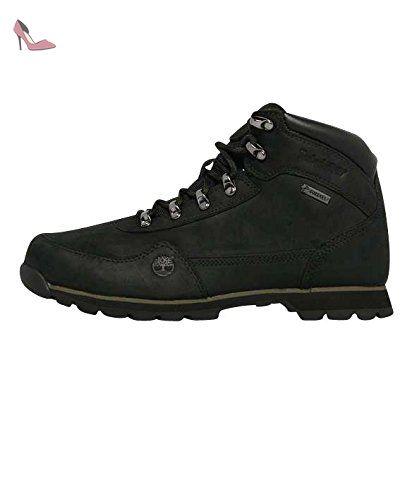Timberland Euro Hiker With Gore Tex Membrane, Baskets mode homme - Noir (Black), 40 EU (6.5 UK) (7 US) - Chaussures timberland (*Partner-Link)