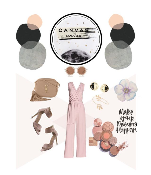 Paint Your Look With Canvas by Lands' End: Contest Entry by nka12 on Polyvore featuring polyvore, fashion, style, Canvas by Lands' End, Lands' End, Yves Saint Laurent, Chanel, Miss Selfridge, House of Holland, Lollipop, Seventy Tree and clothing
