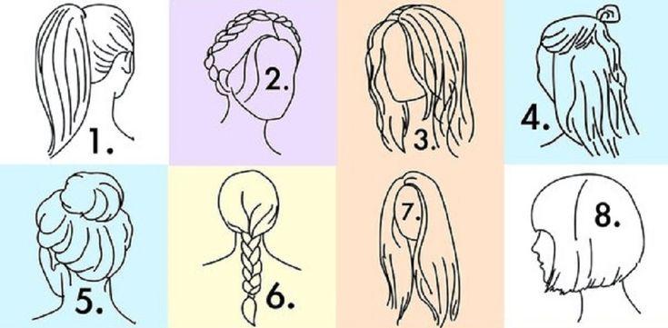 A hajad megmutatja milyen vagy! Nézd meg!