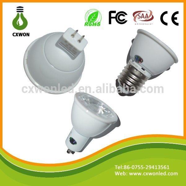 LED spot light supplier GU10 E27 MR16 38 degree 12-24V spot lighting lamps