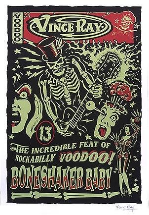 psychobilly poster