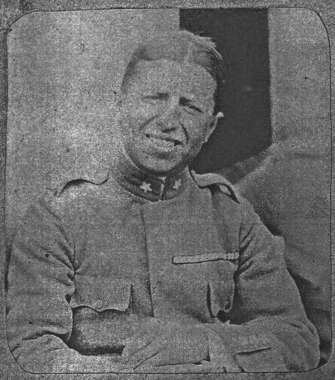 Maggiore Roberto Olmi, comandante di Cima Campo