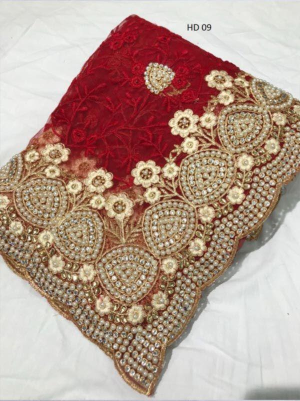 6233925a5a Vastrangam Nylon Net Stone Work Saree   rekha fashion in 2019   Work ...
