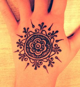 Henna Tattoos or Motifs
