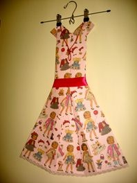 Folded Paper Dress Art - Paper Dolls