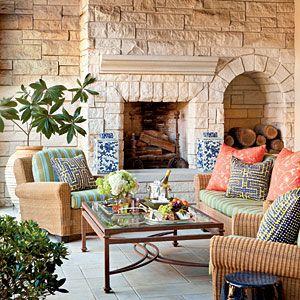 Decorating A High Definition Dallas Home Outdoor AreasOutdoor RoomsOutdoor DecorOutdoor LivingOutdoor SeatingSpanish