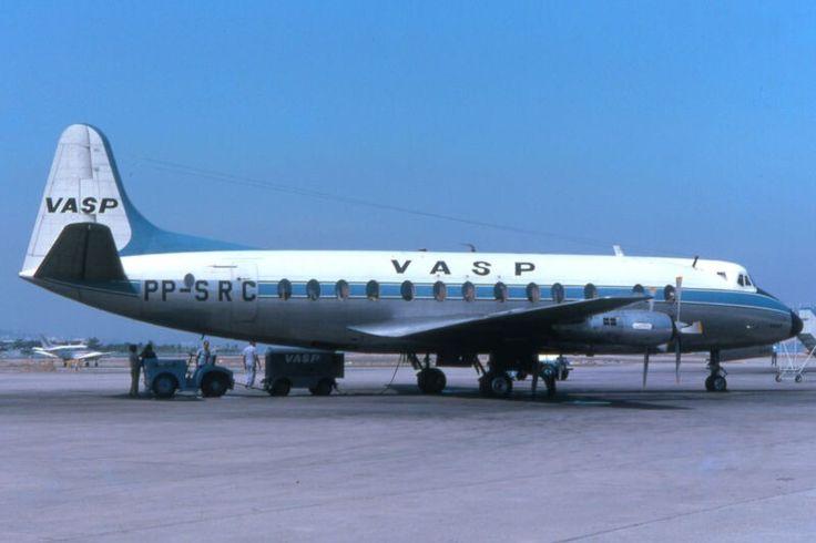 VASP Brazilian Airlines Vickers Viscount