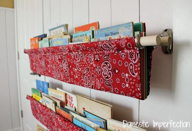 stoccaggio libro tessuto