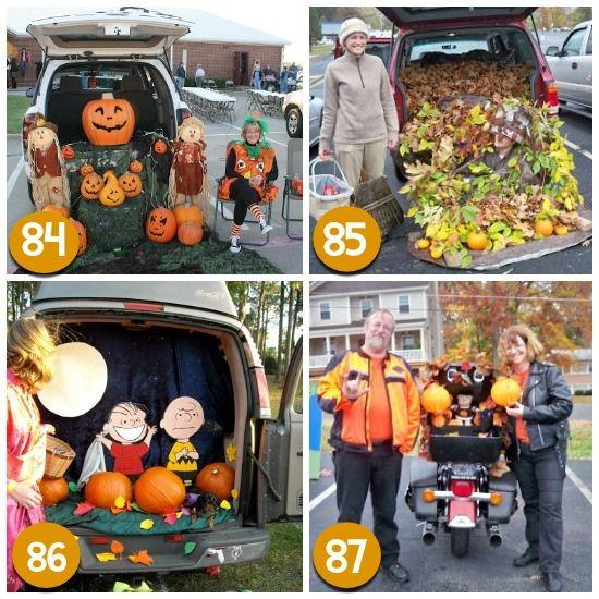 471 best Halloween Decorations images on Pinterest Holidays - halloween trunk or treat ideas
