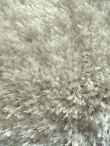 White Shag Rug 5 Ft X 7 Ft Afro Design New top carpets for - gemutlichkeit zu hause strick woll fellmobel decken