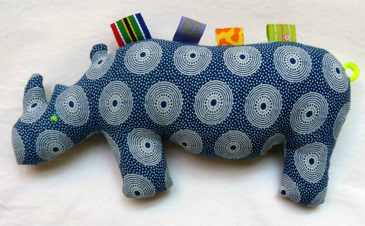 Kids toys by Mathilde & Co. made from ShweShwe fabric >>  Find them at the FoodWineDesign Fair this weekend www.foodwinedesign.co.za