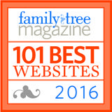 Learn the 101 Best Websites for Genealogy in 2016 from Family Tree Magazine and get a jump start on your family history. #genealogy #family