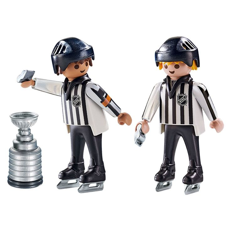 Playmobil NHL Referees - Stanley Cup,