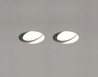 Discover All The Information About Product Recessed Ceiling Spotlight Indoor Halogen LED TWIN TRIMLESS MAGNETIC