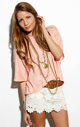 pretty lace skirtFashion, Summer Outfit, Style, Clothing, White Lace, Cute Outfit, Lace Shorts, Lace Skirts, Dreams Closets