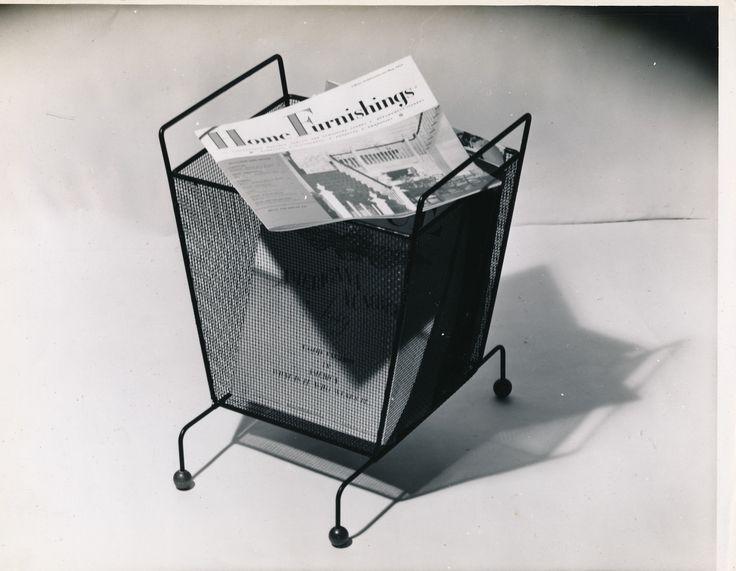 wastebasket/magazine holder