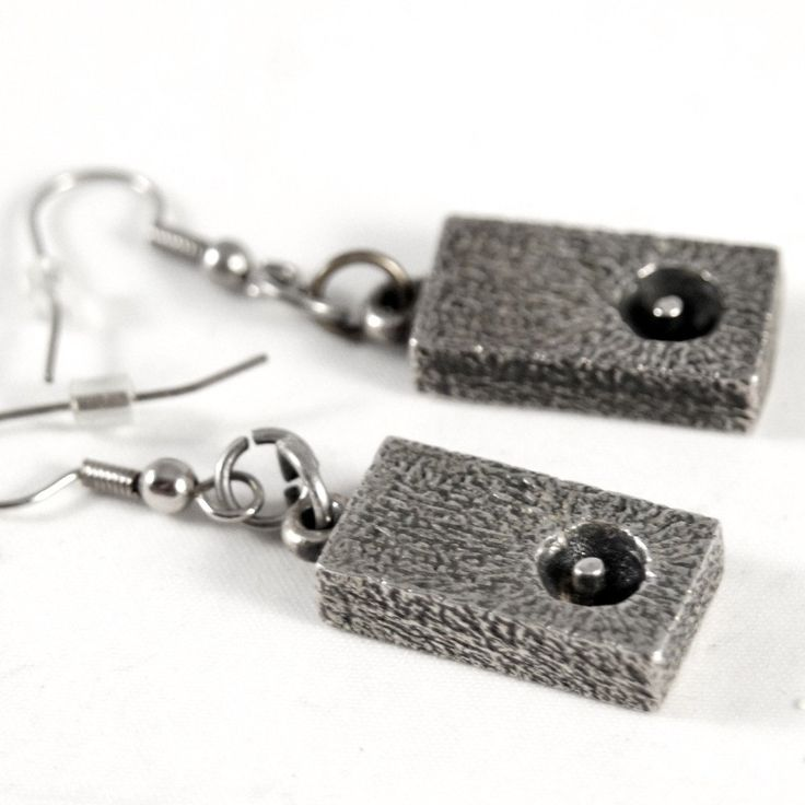 Guy Vidal Shadow Box Earrings