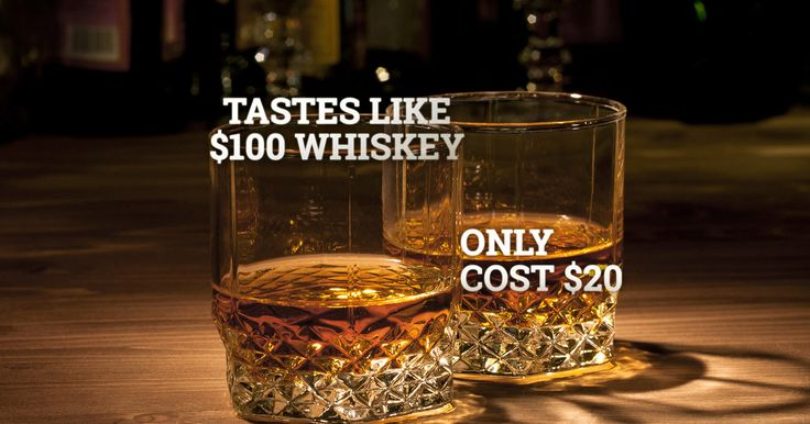 Top-shelf whiskey, middle-shelf prices.