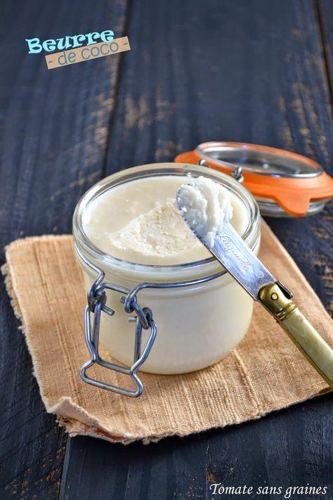 Beurre de coco : http://tomatesansgraines.blogspot.fr/2015/01/je-fais-mon-beurre-de-coco.html
