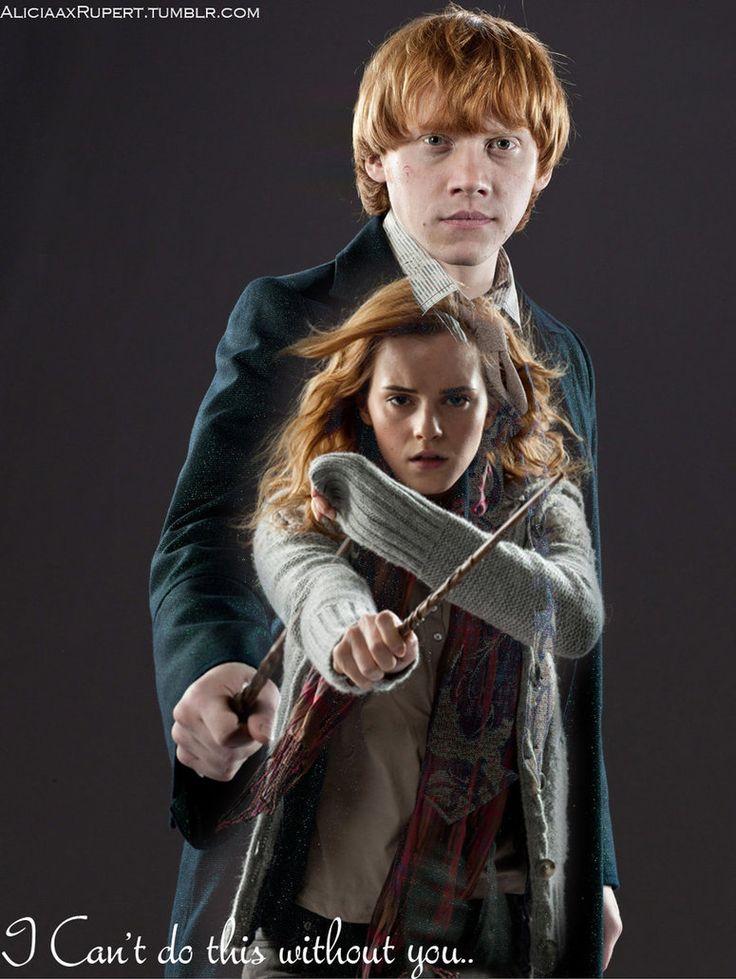 25 melhores ideias de arte da hermione granger no pinterest - Harry potter hermione granger ron weasley ...